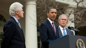 Obama, Bush, Clinton