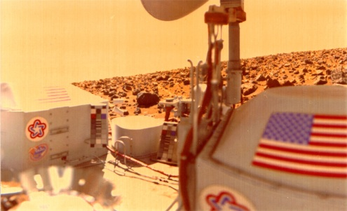 NASA's Viking Lander on Mars 1976