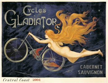 Cycles Gladiator wine poster1