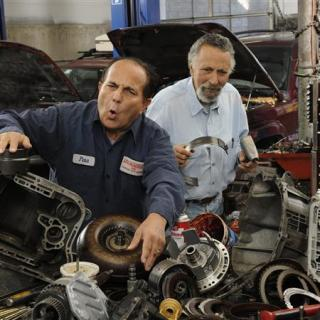 Handout photo of Tom and Ray Magliozzi