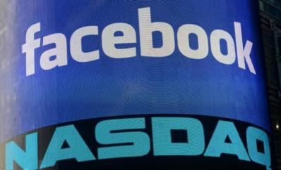 FaceBook NASDAQ logos together