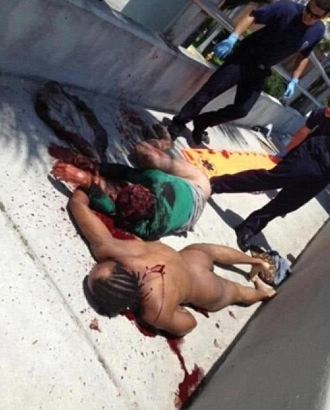 Miami cannibal dead w victim