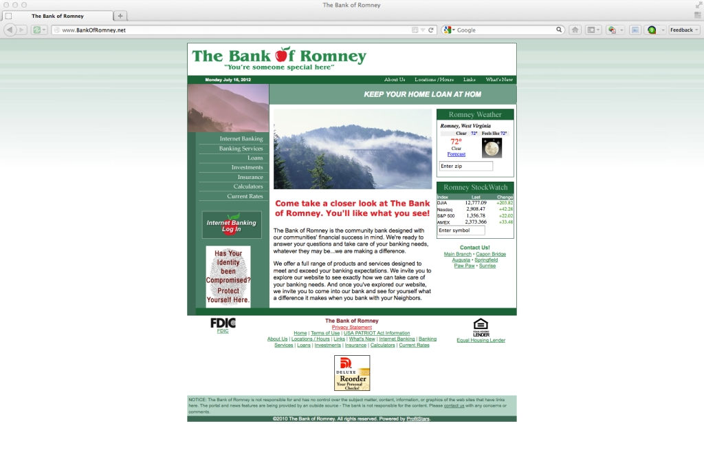 Bank of Romney... Romney, WV