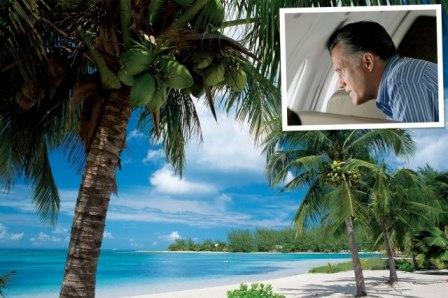 Mitt Romney Cayman Islands banking