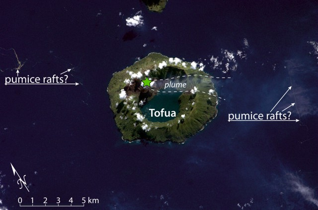 Floating pumice & island 3609pum1