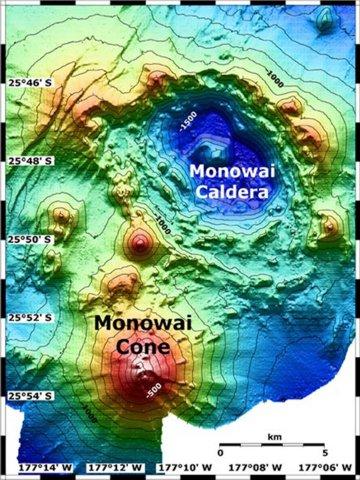 Monowai oceanic volcano 116089