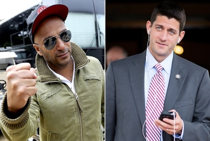 Rage Against the Machine blasts Paul Ryan