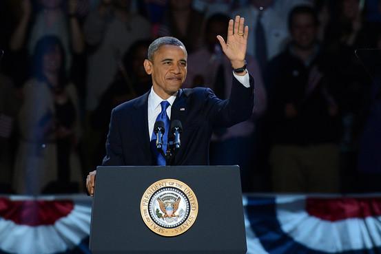 Barack Obama victory 2012 - 20121107022710