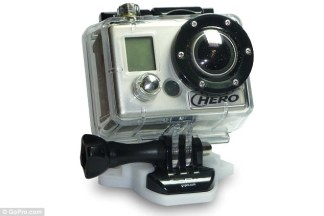 Product: The GoPro camera sells for around $300, with the most expensive model reaching $400