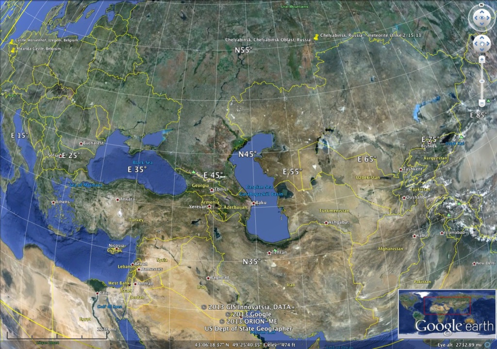 Russian meteorite site GoogleEarth_Image