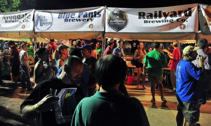 People sample beers during the 2013 Magic City Brewfest, Friday, May 31, 2013. (Tamika Moore | tmoore@al.com)