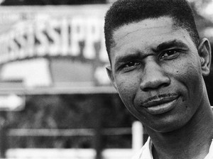 Medgar Wiley Evers (July 2, 1925 – June 12, 1963) was an African-American civil rights activist from Mississippi involved in efforts to overturn segregation at the University of Mississippi. After returning from overseas military service in World War II and completing his secondary education, he became active in the civil rights movement. He became a field secretary for the NAACP. Evers was assassinated by Byron De La Beckwith, a member of the White Citizens' Council. As a veteran, Evers was buried with full military honors at Arlington National Cemetery. His murder and the resulting trials inspired civil rights protests, as well as numerous works of art, music, and film.