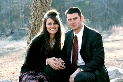 Alabama State Senator Shadrack McGill (R, 8th District) & wife, Heather - photo from Facebook page