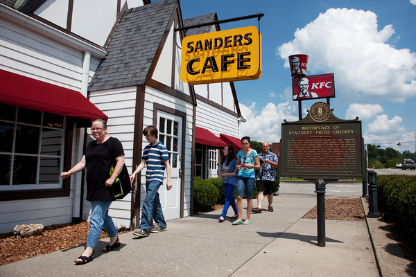 The Sanders Cafe and Museum in Corbin, KY / Jonathan Palmer for The New York Times