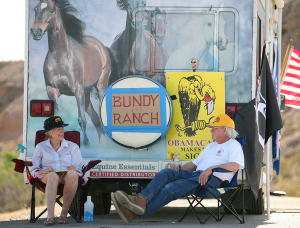 Bundy Sympathizers Retiree Campers