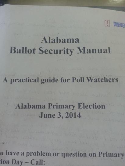 AL Ballot Security Manual
