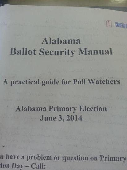 AL Ballot Security Manual