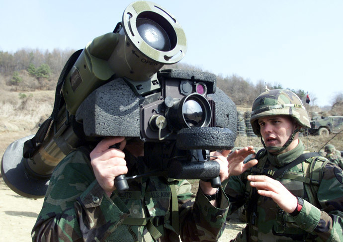 Shoulder-fired Anti-tank missile