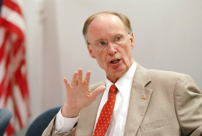 labama Governor Robert Bentley signed legislation PROHIBITING two out-of-state businesses from investing in Alabama & constructing business operations, and hiring. Total Cost of Loss = $200+ Million