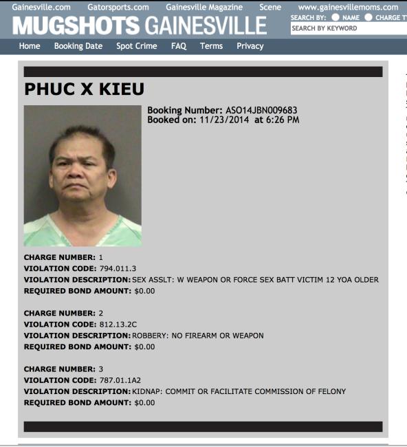 Screenshot, from http://mugshotsgainesville.com/mug-shot/phuc-x-kieu