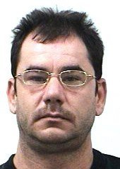 DECEASED - Richard William Taylor, 42, was killed by a homeowner when, earlier, under a ruse to use the homeowner's telephone, he and three accomplices later broke into the home... and was shot & killed by the homeowner as they broke into the home. May the shithead rot in HADES, and may his grave be urinated upon by mangy coyotes. Scumbag.