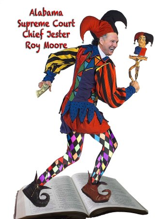 Alabama Supreme Court Chief Jester Roy Moore
