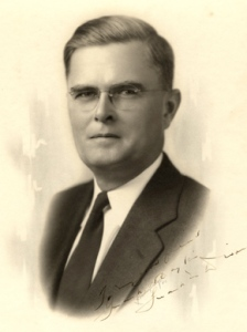 "Frank M. Dixon (1892-1965) was Alabama's governor from 1939-43, during the early years of World War II. A conservative Democrat, he was allied with big business interests and opposed civil rights along with other ""Dixiecrats"" during the 1948 Democratic National Convention. Courtesy of Alabama Department of Archives and History"