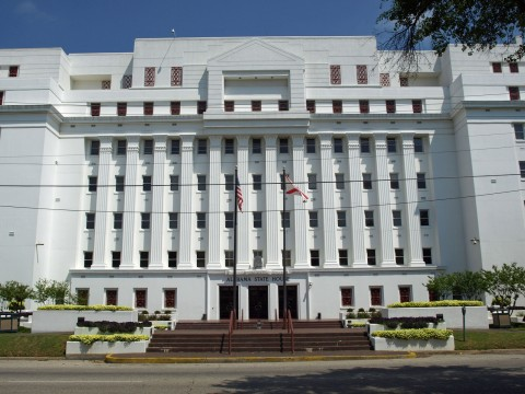 Alabama State House, 11 South Union Street, Montgomery, Alabama