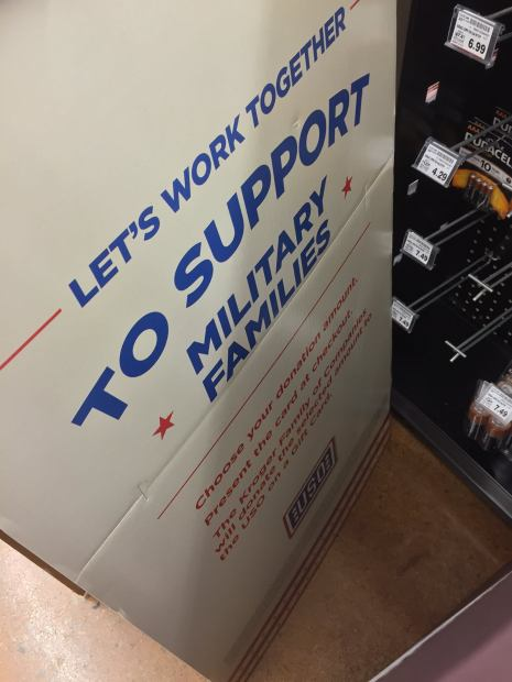 Kroger Uso Support Our Military Families Drive