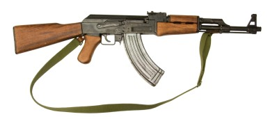 The Avtomat Kalashnikova rifle of 1947.