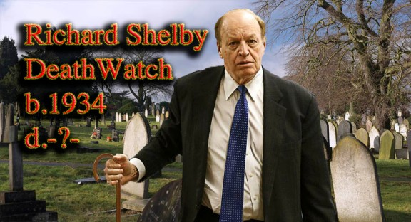 Alabama Senator Richard Shelby is aged 81 years, and is one of 5 senators aged 80, and over. The Senators average age is 61.