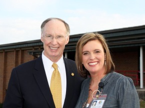 Alabama Governor Bentley with paramour/ Rebekah Caldwell Mason