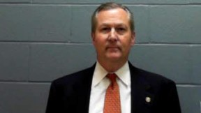 "Alabama Speaker of the House Mike Hubbard, (R, 79, Lee County/Auburn) is indicted on 23 state Felony Ethics Violation charges, which he earlier championed and helped pass, though he now claims they're ""unconstitutional."""