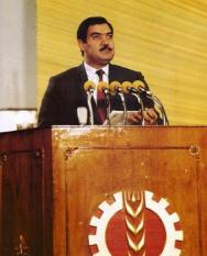 Mohammad Najibullah Ahmadzai February 1947 – 28 September 1996