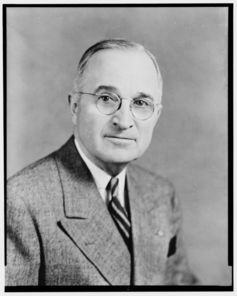 President Harry Truman Image courtesy of Library of Congress