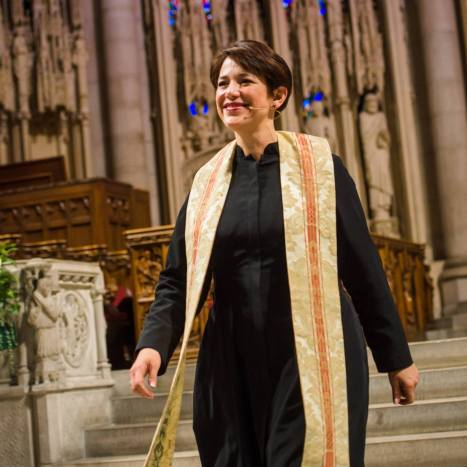 The Rev. Dr. Amy Butler is the Senior Minister of The Riverside Church in New York City. Prior to this call, Pastor Amy served as Senior Pastor of Calvary Baptist Church in Washington, D.C. Pastor Amy holds degrees from Baylor University (BA '91, MA '96); The International Baptist Theological Seminary (BDiv '95); and Wesley Theological Seminary (DMin '09).