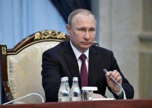 President Vladimir V. Putin of Russia. Credit Alexei Nikolsky/Sputnik