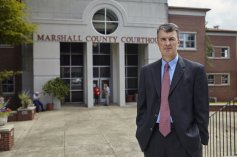 Marshall County District Attorney Steve Marshall, 52, switched from Democrat to Republican in 2011, was appointed Alabama Attorney General by Governor Robert Bentley to serve the remainder of Luther Strange's term, whom Bentley appointed to fulfill the remainder of U.S. Senator Jeff Sessions' term, who POTUS Trump nominated as U.S. Attorney General. The Alabama Attorney General's office is up for re-election in 2018.